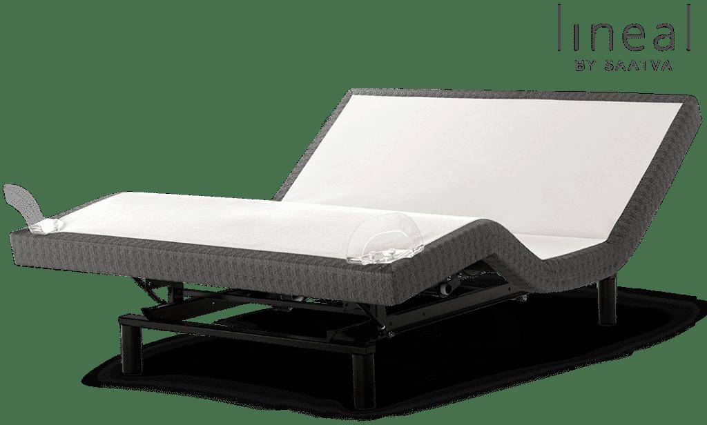 The saatva Lineal adjustable bed frame